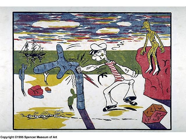 Untitled (Popeye and Pinnochio)